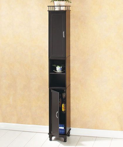 Popular Bathroom Slim Line Storage Tower