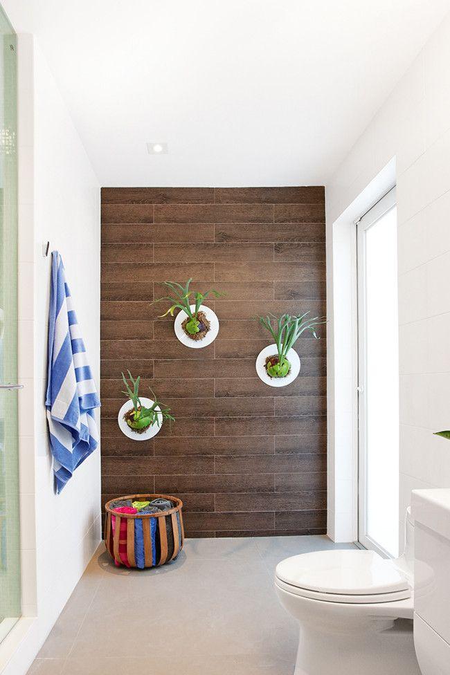 Unique  Bathroom Ideas Ceramic Tile Tile Feature Bathroom Style Feature Walls