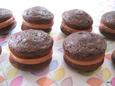 Double Chocolate Whoopie Pies | Whoopie Pies! I love that name! | Pi ...