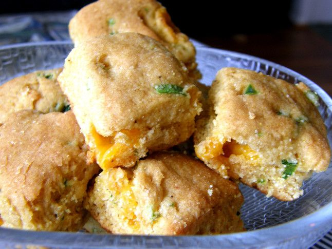 Sweet Corn Jalapeno Cheddar Biscuits - recipe review