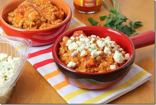 Buffalo Chicken Chili from Blog is the New Black. Watch out Chili Cook ...