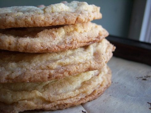 snickerdoodle cookies with almond extract. Love Almond flavor!!