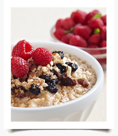 Steel Cut Oats In A Jar With Berries And Flax Seeds Recipes ...