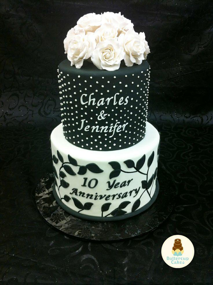 10 Year Wedding Anniversary Ideas 10 Year Anniversary Cake