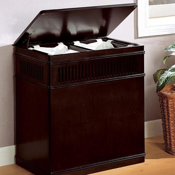 Wood laundry hamper boooom pinterest - Wooden hampers for laundry ...