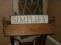Duplicate those costly primitive signs for a fraction of the price using this DIY!