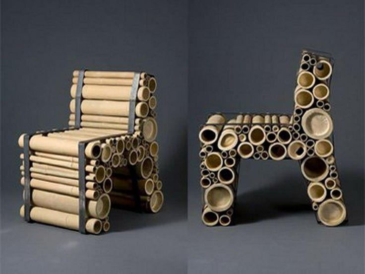 Muebles con bambu muebles reciclados pinterest - Muebles de bambu ...