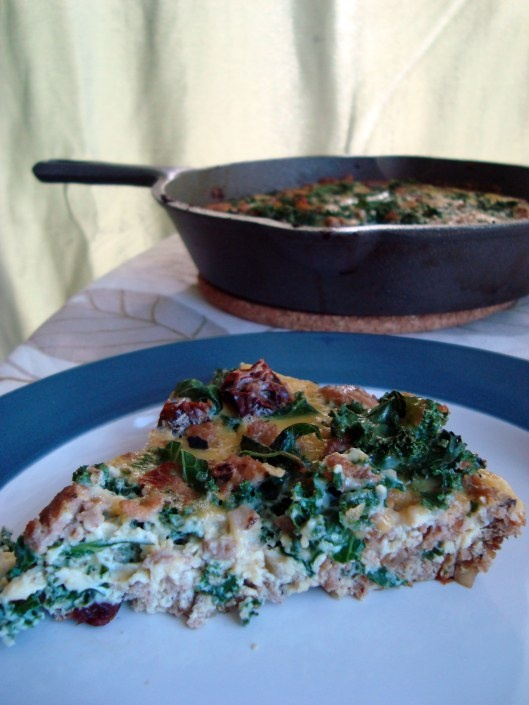 ... kale and red pepper roasted red pepper and kale frittata recipe martha
