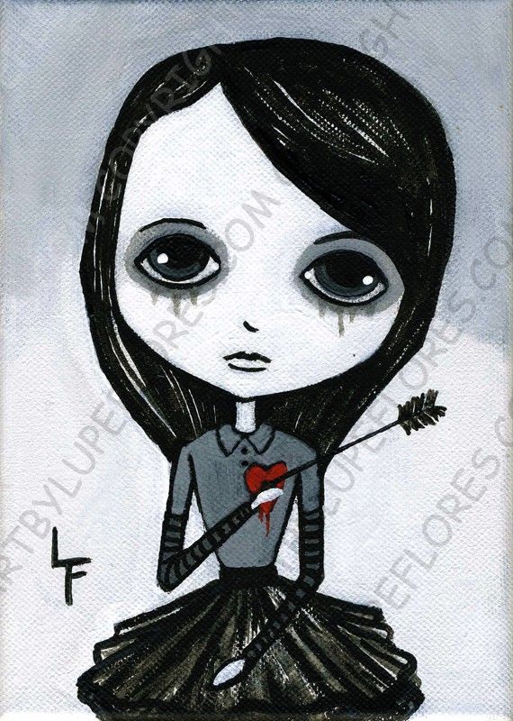 Wounded Heart Girl