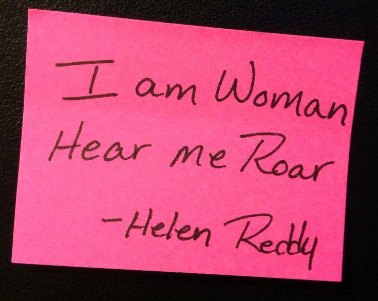 Am Woman Hear Me Roar Lyrics I Am Woman Hear Me Roar | Auto Design ...