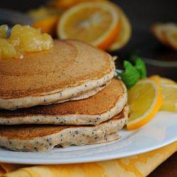 Lemon Poppyseed Yogurt Pancakes | Regular Recipes to Try Out! | Pinte ...