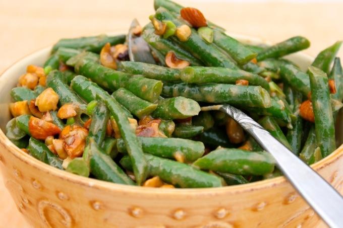 Green bean and hazelnut salad! | Lunch/dinner | Pinterest