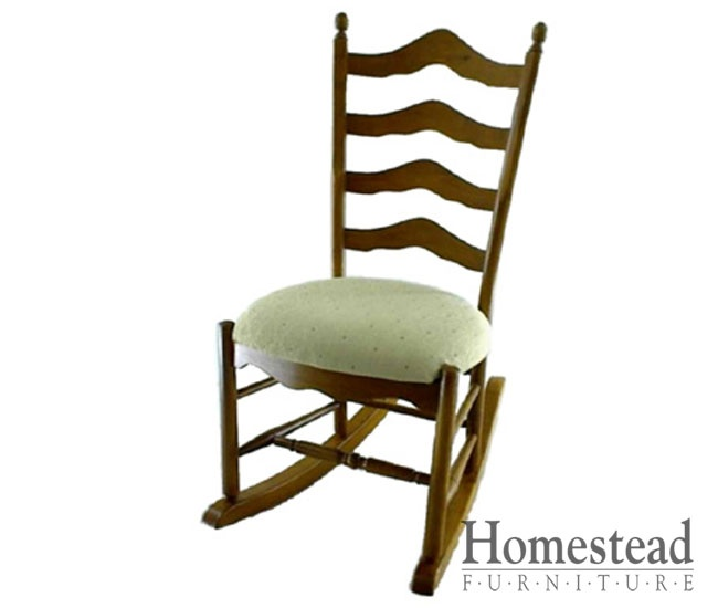 ... or nursing rocking chair with a ladder back .... love this rocker