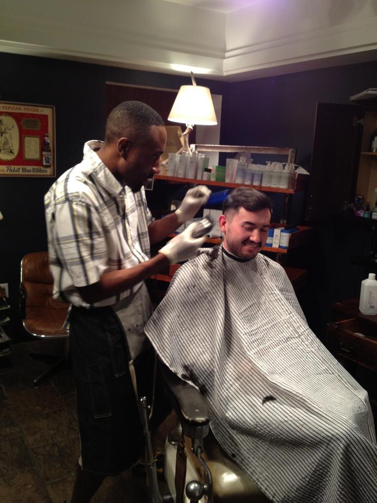 Boston barber shop Clean Shaved Pinterest