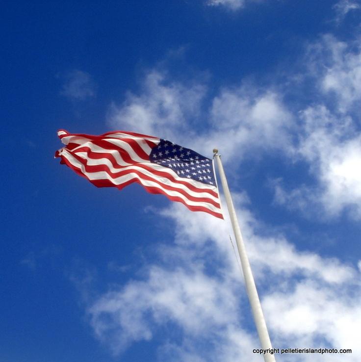 uss arizona flag
