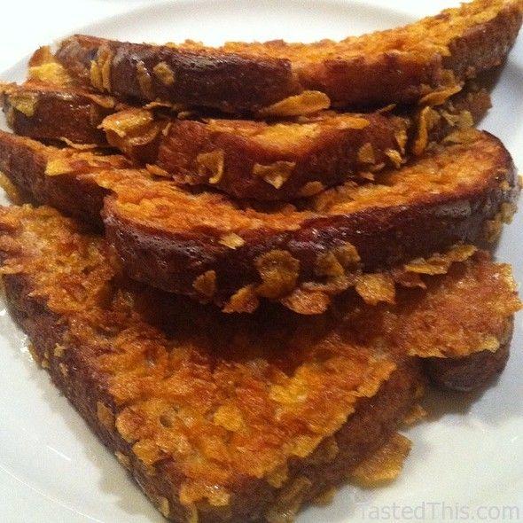 Crunchy French Toast Recipe — Dishmaps