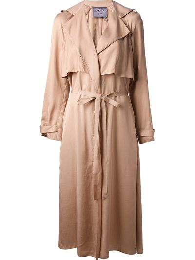 Shop now: Lanvin Belted Trench Coat