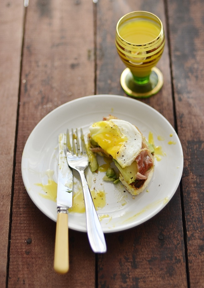 Fried Egg Open Face Breakfast Sandwich | If only the husband let me c ...