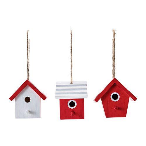 VINTERMYS Hanging decoration, bird house