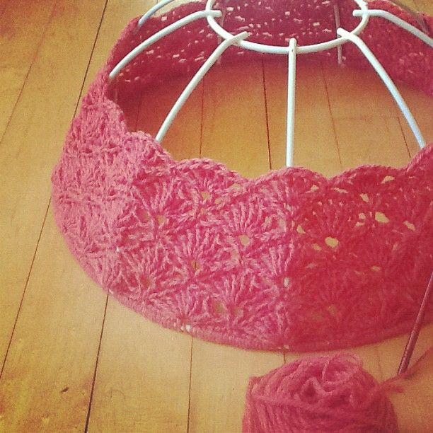 Free Pattern Crochet Lampshade : Pin by Lori Hodges on Crochet 2 Pinterest