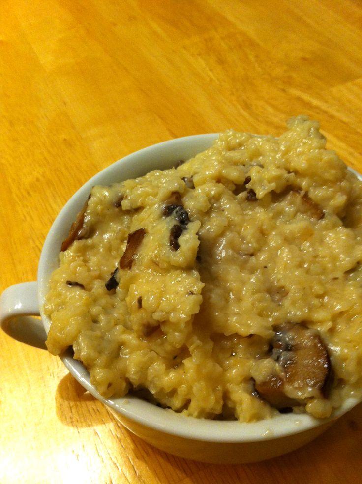 Slow cooker mushroom risotto | Food - Crock-Pot / Slow Cooker | Pinte ...