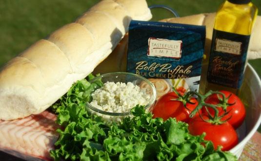 Bold Buffalo Grilled Chicken Club Sandwich