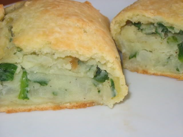 Gluten-Free Spinach and Potato Knishes, dairy / corn / soy free. looks ...