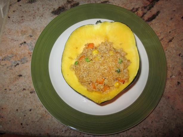 Veggie and Quinoa Stuffed Acorn Squash | Recipe