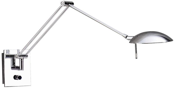 Swing Arm Wall Lamps For Reading : Bernie LED Reading Swing Arm Wall Lamp