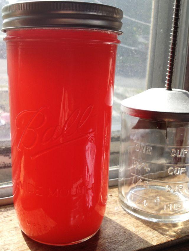 Rhubarb Syrup etc. | Recipes | Pinterest