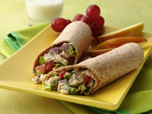 Cucumber-Tuna Salad Pitas | Recipe