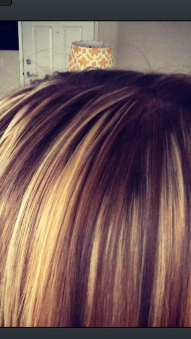 Blonde highlights and lowlights | Love :) | Pinterest