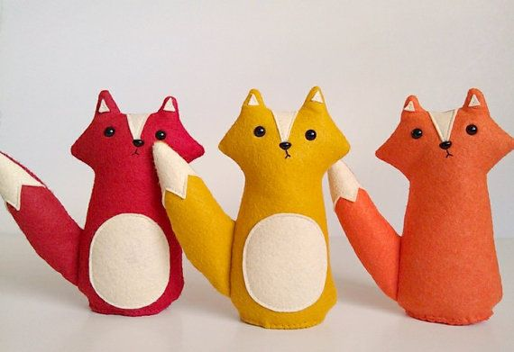 Fox stuffed animal...are foxes replacing owls?