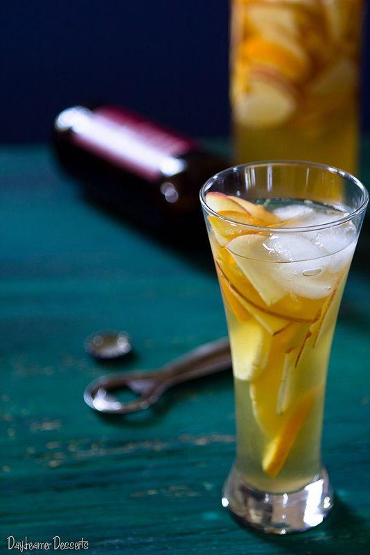 Hard Apple Cider Sangria | Halloween | Pinterest