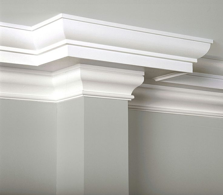 Classical colonial moulding house stuff decor pinterest for Colonial trim molding