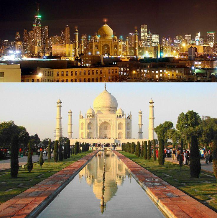 Taj Mahal at Night | Religious | Pinterest: pinterest.com/pin/540432024006703690