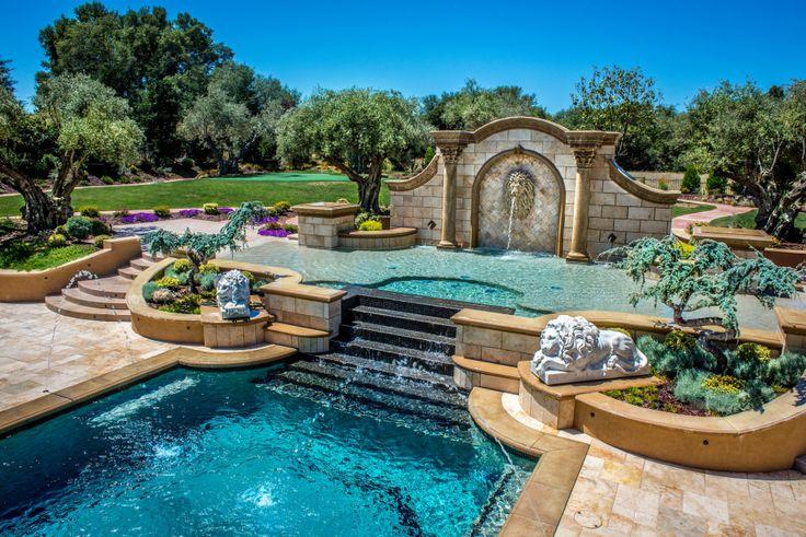 Premier pools spas caribbean blue pebble tec world 39 s for Premier pools