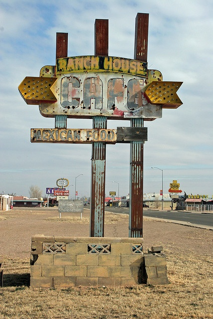 Ranch House Cafe:Tucumcari, NM by Jake Slagle