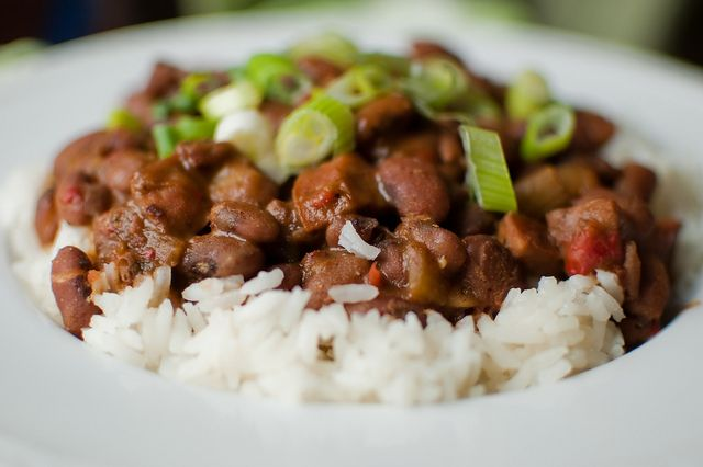 Cajun Red Beans and Rice and sausage | Rice | Pinterest