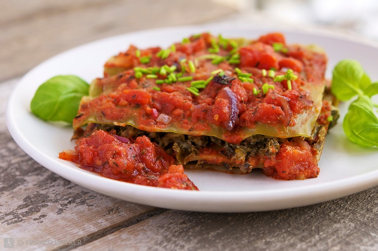 kale and spinach lasagna | Vegan/and or gluten free for me MOM | Pint ...
