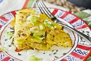 Herbed Summer Squash & Potato Torte - a different way to enjoy ...