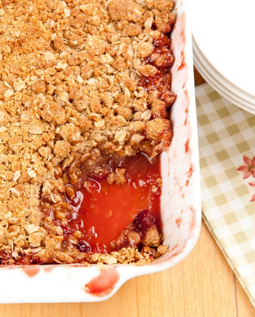 Apple Cranberry Oat Crumble | Recipes- Fruit Desserts | Pinterest