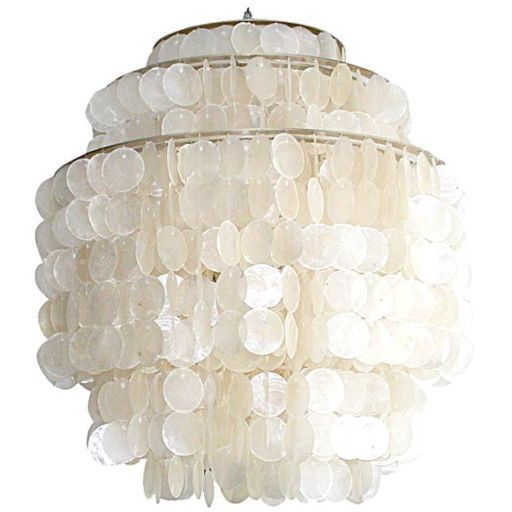 Capiz Shell Chandelier Lighting You Light Up My Life