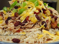 ... night staple for us. Santa Fe Chicken over brown rice….YUMMY