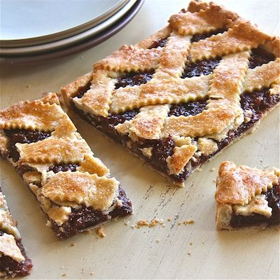 Fig Crostata -- buttery crust with just a hint of apple cider ...
