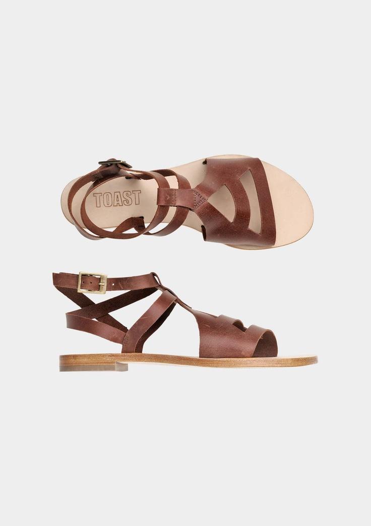 toast sandals