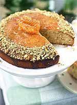 Pistachio Semolina Honey Cake - Country Living