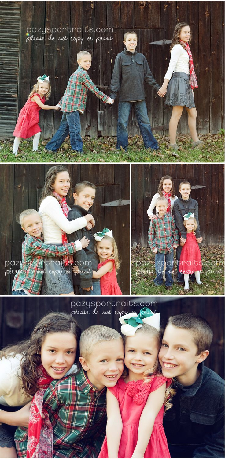 Fun sibling photo shoot family pic pinterest for Family of four photo ideas