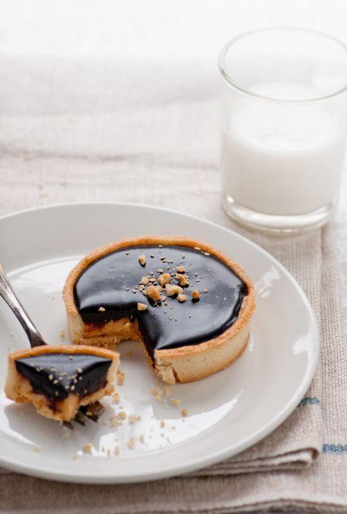 Chocolate Peanut Butter Tart | eye candy | Pinterest
