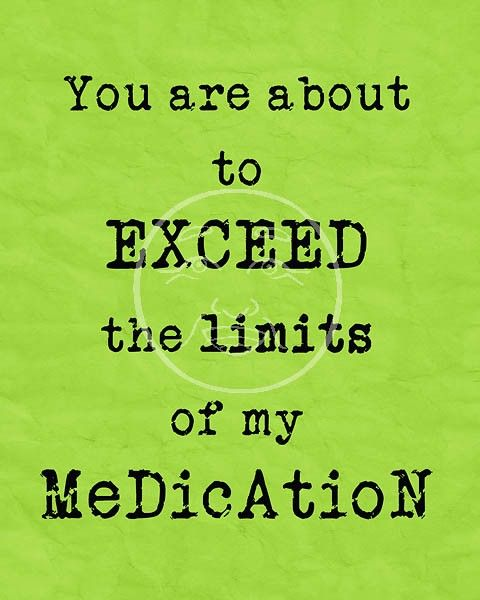 You are about to EXCEED the limits...